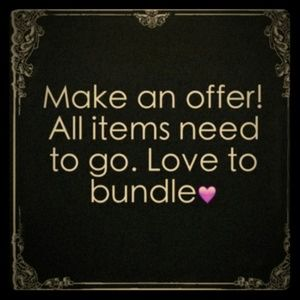 I Love Offers and Bundles!